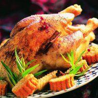 Poularde fermière pochée et rôtie, gnocchis de potiron - Cuisine et Vins de…