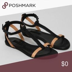 Won Hundred Hold Black/Nude Sandal Amazing sandals for comfortable wear. These are pre loved in excellent condition and have lots of life left. Ask me anything! Won Hundred Shoes Sandals