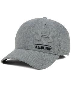 Under Armour Auburn Tigers Grayout Stretch Cap - Gray S/M