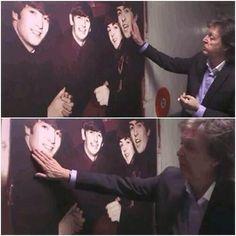 Paul McCartney / The Beatles Ringo Starr, George Harrison, Great Bands, Cool Bands, Les Beatles, Beatles Funny, Hello Beatles, Beatles Band, John Lennon Paul Mccartney