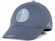 ee5bf28c947 Denver Nuggets adidas Gray Swat NBA Official Hat Cap