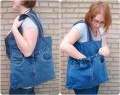Denim Market Tote Bag by PolClary on DeviantArt