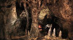 Miniature cave