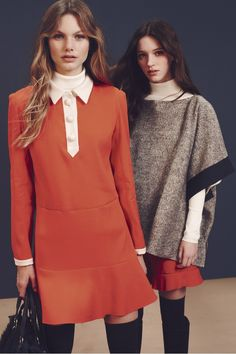 See by Chloé Fall 2015 Ready-to-Wear Collection Photos - Vogue Moda Fashion, Fashion Week, Runway Fashion, Winter Fashion, Fashion Show, Fashion Design, Net Fashion, Fashion Outfits, Looks Style
