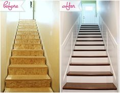 You need to see how you can get this staircase transformation in your own home!
