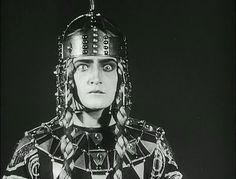 Margarete Schön as Kriemhild in Lang's 'Die Nibelungen', 1924