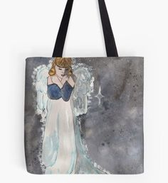 Take me to your heart Tote Bag Snowy Forest, Snowy Trees, Beard Winter, Winter Fairy, Winter Illustration, Winter Painting, Nature Artwork, Christmas Art, Fantasy Art