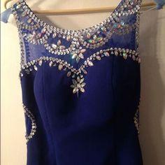 Beautiful Royal Blue Long Prom Dress