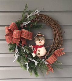 Your place to buy and sell all things handmade Christmas Tree Design, Christmas Makes, Christmas Snowman, Christmas Projects, Christmas Crafts, Christmas Decorations, Holiday Decor, Christmas Wreaths For Front Door, Winter Wreaths