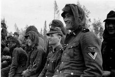 """ORIGINAL PHOTOS OF THE SS-DIVISION """"NORD"""""""