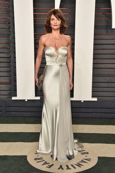 Helena Christensen Photos - 2016 Vanity Fair Oscar Party Hosted By Graydon Carter - Arrivals - Zimbio