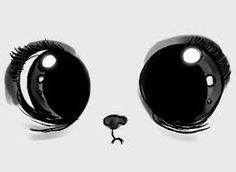 Animated gif about gif in cosas que me gustan by Fernanda Del Real Ramirez Kawaii Drawings, Cute Drawings, Animal Drawings, Drawing Sketches, Cute Eyes Drawing, Crazy Drawings, Sketching, Cartoon Faces, Cute Cartoon