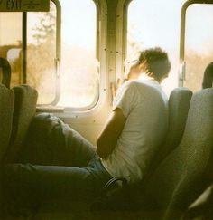 Alex on the bus