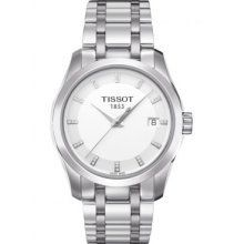 Tissot Couturier Silver Dial Stainless Steel Ladies Watch T0352101101600 on http://watches.kerdeal.com/tissot-couturier-silver-dial-stainless-steel-ladies-watch-t0352101101600