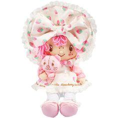 Hello Kitty × Strawberry Shortcake stuffed doll