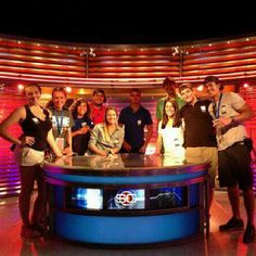 The #LynnUniversity XGames class at SportsCenter in L.A. Thanks @ESPN! See you in Aspen!
