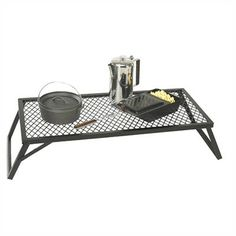 Camp Kitchen - Stansport Heavy Duty Steel Camp Grill >>> More info could be found at the image url. Camping Tools, Camping Equipment, Camping Hacks, Camping Gear, Outdoor Camping, Camping Cabins, Campfire Grill, Dutch Oven Camping, Grill Rack