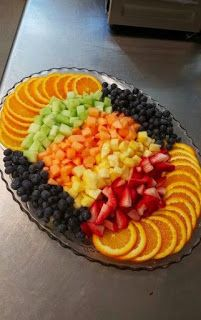 Fruit Platter Design 1 By me Kyona Hall Shared by Where YoUth Rise Mealfit offers high quality food and catering services. To know more about it, check out www. A fruit platter is great for the buffet line or dessert table. Food Trays, Fruit Trays, Fruit Plate, Food Buffet, Fruit Snacks, Fruit Tables, Fruit Buffet, Fruit Dishes, Fruit Drinks