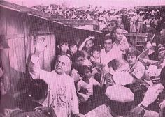 November, 1970: Overcoming the protests and reservations of the Marcos government, Pope Paul VI spent a Sunday afternoon wading through the mud-riddled slums of Tondo and ministering to the residents. He also spent more than an hour staying inside the shack of a family with ten children just to talk to them.