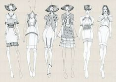 fashion lineup - Google Search