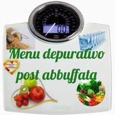 Menù depurativo post abbuffata, Mangia senza Pancia