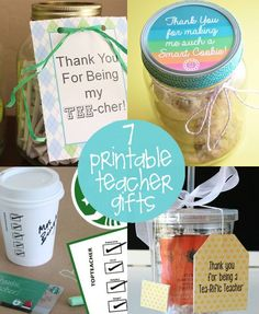 End of the Year Teacher Gift Ideas | creative gift ideas