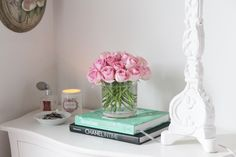 Styling a nightstand