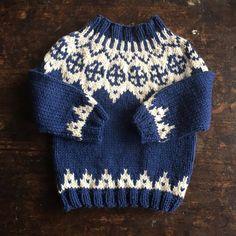 Palle wool/alpaca sweater Blue 1-10y