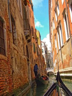 Venice - one of the best places for visiting in Italy