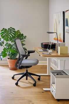 Need a game changer? Invest in an ergonomic office chair. We spend most of our days sitting at the computer, choosing the right seat will positively impact productivity and your health. Shop the ReGeneration Office Chair at 2Modern. Modern Home Offices, Modern Office Design, Modern Desk, Chair Height, Ergonomic Office Chair, Health Shop, Useful Life Hacks, Game Changer, Room Inspiration