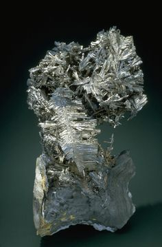 Dyscrasite - Mineral Gallery - Smithsonian Institution