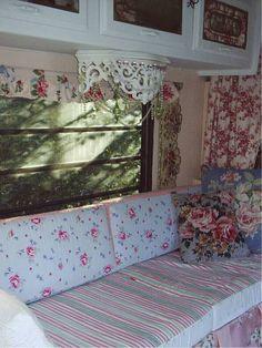 pink cottage trailer