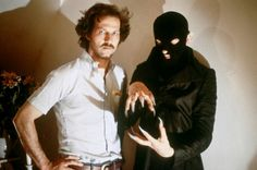 Klaus Kinski and Herzog on the set of NOSFERATU: THE VAMPYRE (1979).
