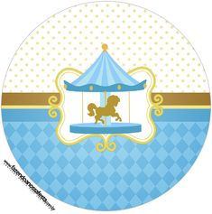 Carousel Party, Baby Posters, Infant Loss, Party Printables, Baby Boy Shower, Tinkerbell, Scrap, Flamingo, Kids Rugs