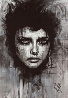 "Non Nude OIL & ACRYLIC CANVAS Painting ORIGINAL Fine Art By L Dolan 16x24"" Badb"