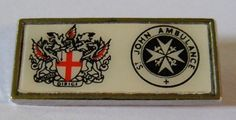 St John's Ambulance supporter badge