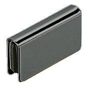 """C.R. LAURENCE GDH7BL CRL Black Rectangular Strike Plate by C.R. Laurence. $5.00. Easy to Install Designed for 3/16"""" to 1/4"""" (5 to 6 mm) Glass The CRL Glass Door Strike Plates are designed for 3/16 inch to 1/4 inch (5 to 6 millimeter) glass. The Strike Plate works with CRL's Magnetic Latches to keep cabinet doors closed. The Plates are easily installed by sliding over the top or bottom edge of the door. The Strike Plates are available in three finishes to match CRL's Glass Doo..."""