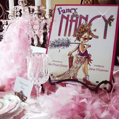 fancy nancy soiree ideas
