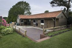 Private stables at the bottom of the garden...only from Scotts!