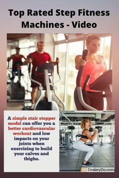 A simple stair stepper model can offer you a better cardiovascular workout and low impacts on your joints when exercising to build your calves and thighs. A more complex stair stepper has adjustable speed, resistance level, speed, pedal distances and more. Most also include an HRM (heart rate monitor) as well as digital readouts for distance climbed, calories burned, and speed.