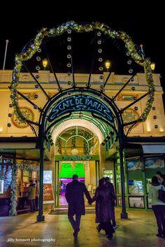 The Art Nouveau entrance to the Café de Paris on Casino Square.  Reminiscent of those gorgeous entrances to some Paris metro stations.