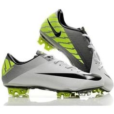 www.asneakers4u.com New Nike Mercurial Vapor SuperFly III FG Soccer Cleats In White Black Cheap Cleats