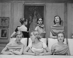"""Vintage Fashion 50 Classy People From The Past Who Remind Us What """"Cool"""" Really Means! Glamour Vintage, Vogue Vintage, Vintage Beauty, Foto Vintage, Vintage Hollywood, Vintage Girls, 1950s Fashion Photography, Vintage Photography, White Photography"""