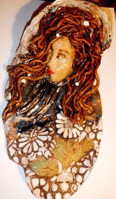 Moje keramika,,,dívka s perlami,,,,