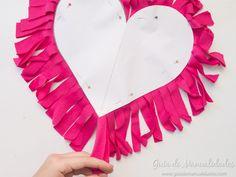 Cómo hacer un cojín corazón sin costuras - Guía de MANUALIDADES Bow Pillows, Bows, Sewing, Fabric, Pattern, Handmade, Crafts, Molde, Girls Girls Girls