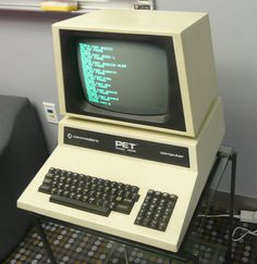 Commodore PET - The first line of personal computers produced my Commodore. This thing is built like a tank!