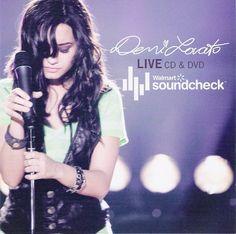 Demi Lovato Live Walmart soundcheck year 2009 - YouTube