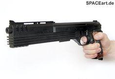 Robocop: Auto-9 Gun, Fertig-Modell, http://spaceart.de/produkte/rc009.php