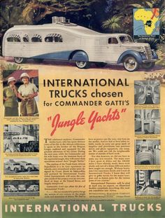 International Harvester Jungle Yacht advertisement 1940?
