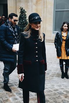 Olivia Palermo attends the Alexis Mabille show during Paris Fashion Week Haute Couture Spring Summer 2017 on January 24 2017 in Paris France